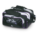 Roto Grip All-Star Edition 2 Ball Carryall Tote Bag - Black/White/Purplr