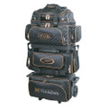 Storm Rolling Thunder 6 Ball Roller Bowling Bag - Black/Gold