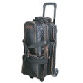 Storm Rolling Thunder 3 Ball Roller Bowling Bag - Black/Gold