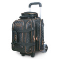 Storm Rolling Thunder 2 Ball Roller Bowling Bag - Black/Gold