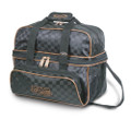 Storm 2 Ball Deluxe Tote Bowling Bag - Black/Gold