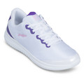 KR Strikeforce Glitz Women's Bowling Shoe - White/Purple