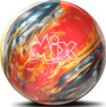 Storm Mix Bowling Ball - Red/Silver/Gold Pearl Urethane