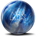 Storm Mix Bowling Ball - Blue Silver Pearl Urethane
