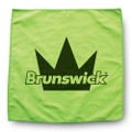 Brunswick Micro Suede Bowling Towel - Green