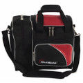 900 Global Deluxe 1 Ball Tote Bowling Bag - Black/Red