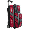 Motiv Vault 3 Ball Roller Bowling Bag - Red