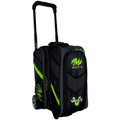 Motiv Vault 2 Ball Roller Bowling Bag - Lime