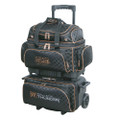 Storm Rolling Thunder 4 Ball Roller Bowling Bag - Black/Gold