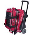 KR Strikeforce Royal Flush 2 Ball Roller Bowling Bag - Red