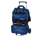 KR Strikeforce Hybrid X 4 Ball Roller Bowling Bag - Navy
