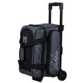 KR Strikeforce Hybrid 2 Ball Roller Bowling Bag - Charcoal