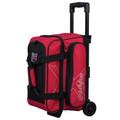 KR Strikeforce Hybrid 2 Ball Roller Bowling Bag - Red