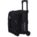 KR Strikeforce Hybrid 2 Ball Roller Bowling Bag - Black