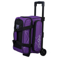 KR Strikeforce Hybrid 2 Ball Roller Bowling Bag - Purple