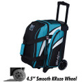 KR Strikeforce Cruiser 1 Ball Roller Bowling Bag - Teal