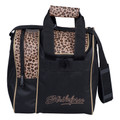 KR Strikeforce Rook 1 Ball Tote Bowling Bag - Leopard