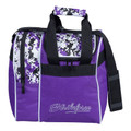 KR Strikeforce Rook 1 Ball Tote Bowling Bag - Purple Digi Camo