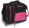 BSI Deluxe Single Bowling Bag - Black/Pink