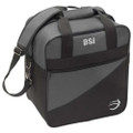 BSI Solar III Single Bowling Bag - Charcoal/Black