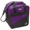 BSI Solar III Single Bowling Bag - Black/Purple