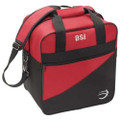 BSI Solar III Single Bowling Bag - Black/Red