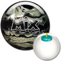 Storm Mix Bowling Ball - Black/White  Pearl Urethane