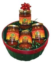 A Four Salsa Basket.
