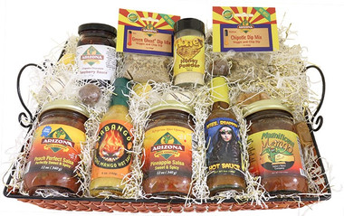 The Sweet Basket.  Mild to Hot.  A nice variety.