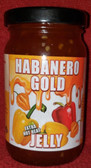 Habanero Gold Jelly 8 oz jar