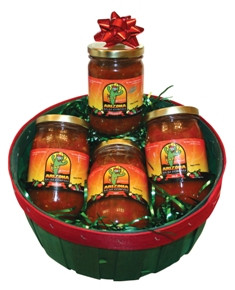 Pick your own salsas.  Simply type your 4 picks Then add the item to your cart.