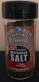 A light smokey sea salt.  Gentle enough for fish, and flavorful enough for anything else.
