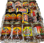 We hand pick our best 19 all natural products for  this super special basket.  Free Shipping on this masterpiece. A nice collection of our best sellers.  Sure to please and impress the recipient.  Perfect for big parties and holiday events.  Our items have a long shelf life so no worries on waste.