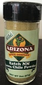 Fresh Ground Hatch New Mexico Green Chile Powder.  A must have for any cook! We carry Mild, Medium and Hot.