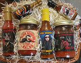Heat Seekers Flavor Basket.  Contains 6 of our best selling, Heat Seeker Products.  Al natural and very flavorful.  Sure to please!  Let them feel the burn!