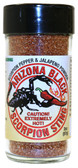 The Perfect Mix Heat and Flavor come together in our Black  Scorpion Seasoning Mix.   Great Rub or Seasoning to heat things up!