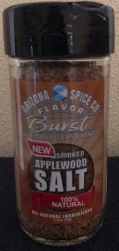 A light smoked flavor sea salt.  Naturally infused. Gentle enough for fish, and flavorful enough for anything else.