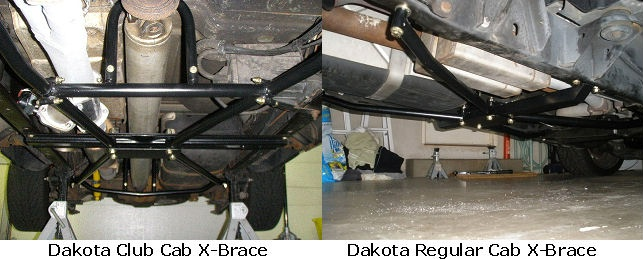 X Brace Rc Cc on 1997 Dodge Dakota Tires