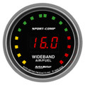 "Auto Meter Sport Comp Street 2: Wideband Air/Fuel Ratio PRO - 2 1/16"" (52.4mm)--Shipping Included"