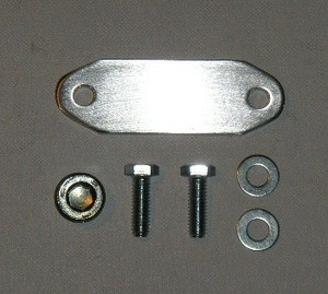 EGR Block-Off Plate and Plug 3 9/5 2/5 9 Dodge Magnum Intake Manifold