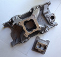 NO LONGER AVAILABLE--Mopar Performance Single Plane Aluminum Intake Manifold, 2/4-bbl MPI, Multi-Port, Machined for EFI, Right Hand Linkage, for 5.2L/5.9L Magnum/Jeep Engines