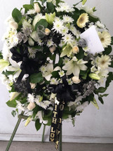 RAIDER COLORS WREATH