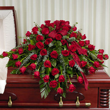 ABUNDANT LOVE CASKET SPRAY- ON SALE WAS $320