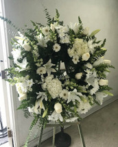 ON SALE WAS $240- OUR HEARTS GO OUT TO YOU AND YOUR FAMILY WREATH