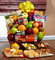 Orchard Fresh Fruit & Snacks Gift Basket