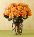 Martha Stewart Cherry Brandy Rose Bouquet