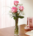 Love's Embrace in Pink-3Roses