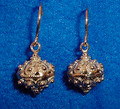 **14 K Gold Sibenski Botuni Earrings, 4.07g ~ Full Ball ~ DISCOUNTED! RE-STOCKED!