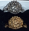 **14K Gold Sibenski Botuni Ring : Large Ball ~ 3.87 grams,  Size 8: ONE AVAILABLE! DISCOUNTED!