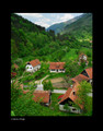 """Croatian Village"" by Croatian Photographer Don Wolf: STEEPLY DISCOUNTED PRICE!"